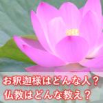 お釈迦様はどんな人?仏教はどんな教え?仏教の基礎を解説します-ブッダの心理学①